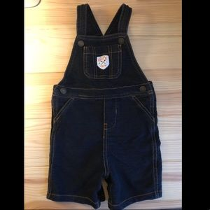 Carter's Jean Overall Shorts